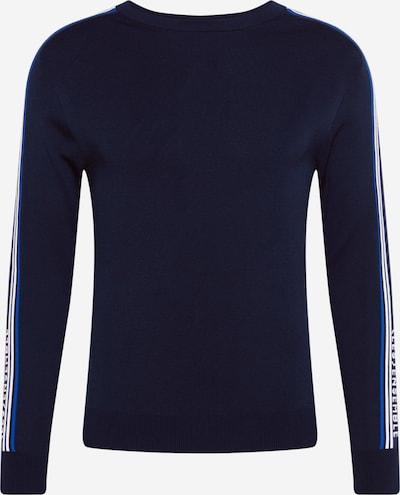 River Island Pulover 'TURBO' u plava / mornarsko plava / bijela, Pregled proizvoda