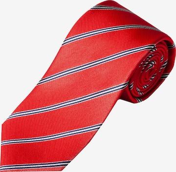 Cravate JP1880 en rouge