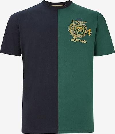 Charles Colby Shirt 'Earl Vernon' in de kleur Blauw / Geel / Groen, Productweergave