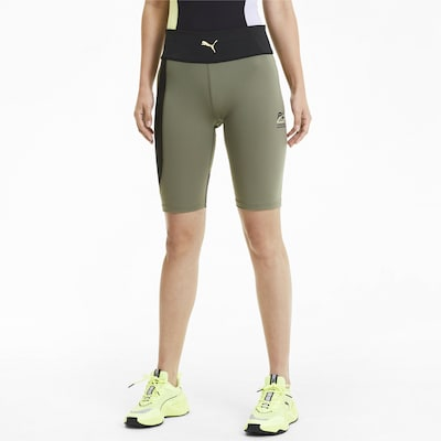PUMA Evide High Waist Kurze Damen Tight in mischfarben, Modelansicht