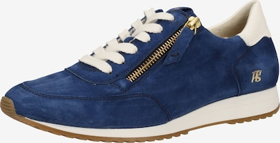 Paul Green Sneaker in blau / gold / weiß, Produktansicht