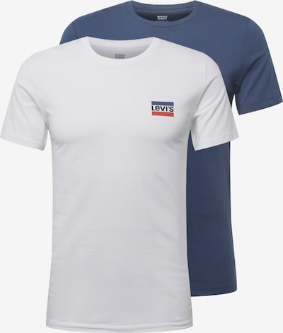 LEVI'S Тениска в сиво / бяло, Преглед на продукта