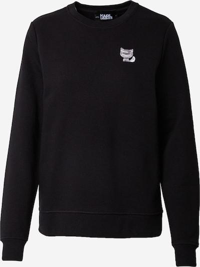 Karl Lagerfeld Sportisks džemperis melns / balts, Preces skats