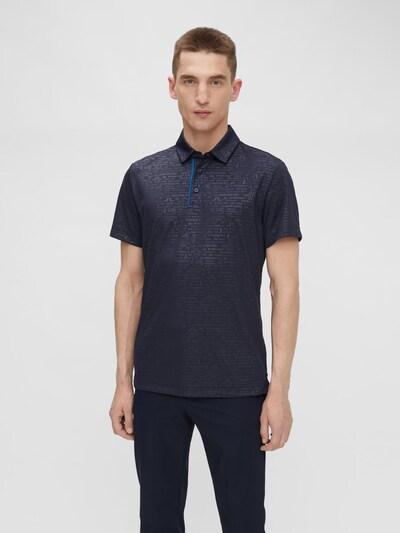 J.Lindeberg Poloshirt in blau: Frontalansicht