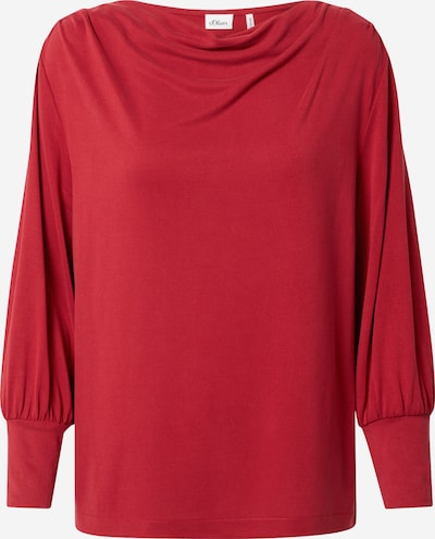s.Oliver BLACK LABEL Shirt in rot, Produktansicht