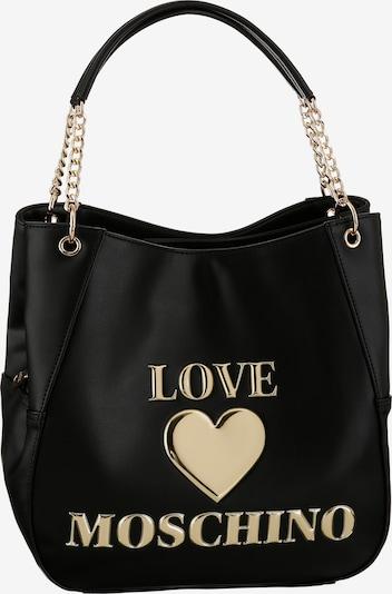 Love Moschino Shopper in gold / schwarz, Produktansicht