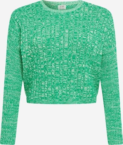 Cotton On Curve Pull-over 'Riley' en vert chiné, Vue avec produit
