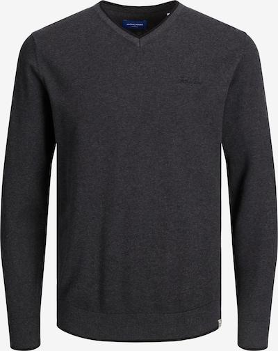 JACK & JONES Pullover 'TONS' in dunkelgrau, Produktansicht