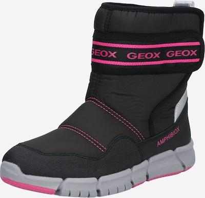 GEOX Snowboots in pink / schwarz, Produktansicht