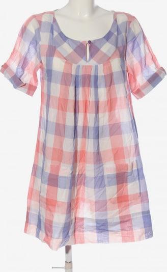 S'NOB Kurzarmkleid in L in blau / pink / wollweiß, Produktansicht