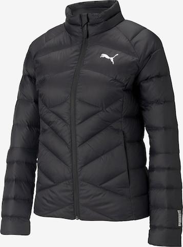 PUMA Outdoor Jacket 'PWRWARM PACKLITE' in Black