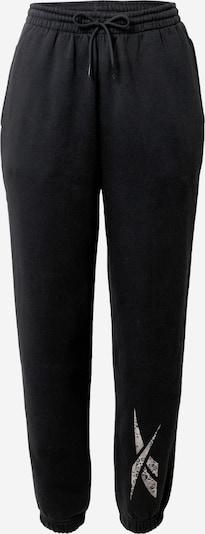 REEBOK Sporthose in beige / grau / schwarz, Produktansicht