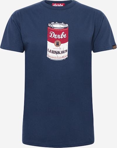 Derbe T-Krekls, krāsa - jūraszils / sarkans / balts, Preces skats