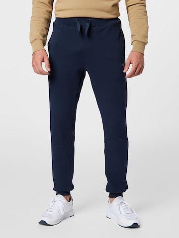 KnowledgeCotton Apparel Панталон 'TEAK' в синьо
