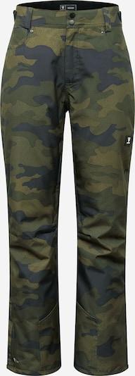 Pantaloni outdoor 'Kitebar' BRUNOTTI pe albastru / verde / kaki, Vizualizare produs