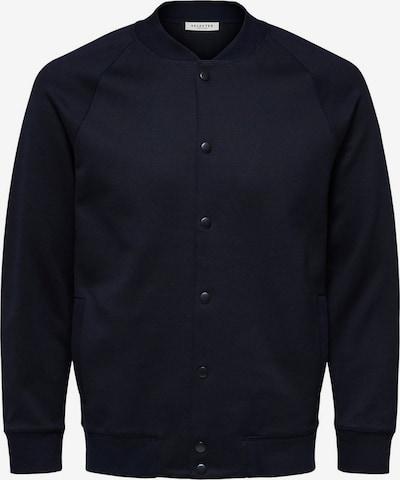 SELECTED HOMME Tussenjas in de kleur Nachtblauw, Productweergave