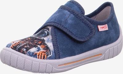 SUPERFIT Mājas apavi 'BILL', krāsa - zils / oranžs / balts, Preces skats
