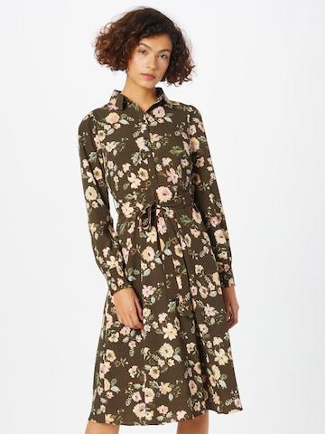 Rochie tip bluză 'FALISHI' de la PIECES pe maro