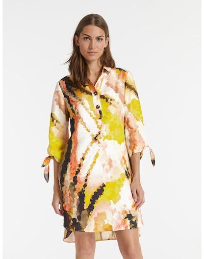TAIFUN Kleid in mischfarben / orange, Modelansicht