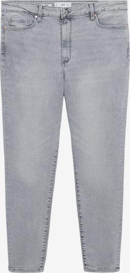 MANGO Jeans 'Anne' in de kleur Lichtgrijs, Productweergave