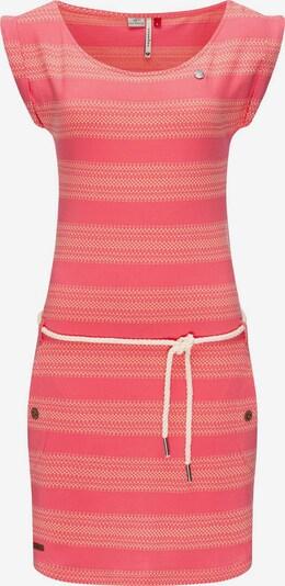 Ragwear Sommerkleid in braun / hellorange / pink / weiß, Produktansicht