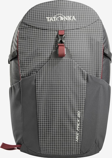 TATONKA Rugzak 'Hike' in de kleur Grijs / Bordeaux / Wit, Productweergave