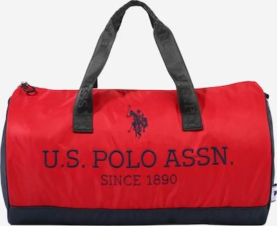 U.S. POLO ASSN. Ceļojumu soma 'New Bump', krāsa - tumši zils / sarkans, Preces skats