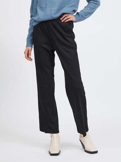 VILA Hose 'Amerone' in schwarz, Modelansicht