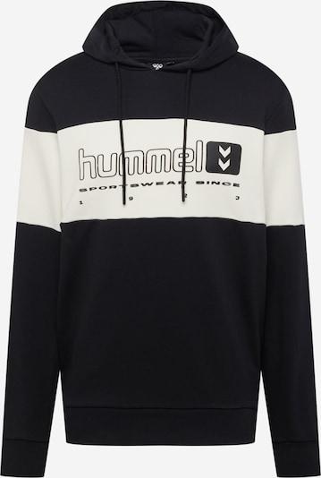 Hummel Sweat de sport en mélange de couleurs / noir / blanc, Vue avec produit