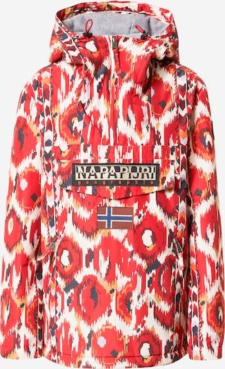 Geacă de iarnă 'RAINFOREST' NAPAPIJRI pe albastru închis / roșu / alb, Vizualizare produs