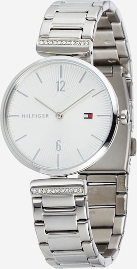 TOMMY HILFIGER Montre à affichage analogique 'Aria' en argent / blanc, Vue avec produit