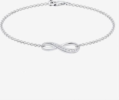 ELLI Bracelet 'Infinity' en argent, Vue avec produit