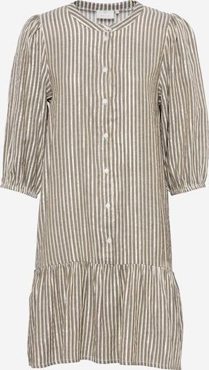 Kaffe Košulja haljina 'Ebony' u svijetlozelena / bijela, Pregled proizvoda