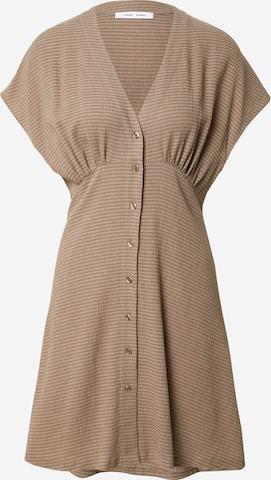 Samsoe Samsoe Dress 'Valerie' in Beige