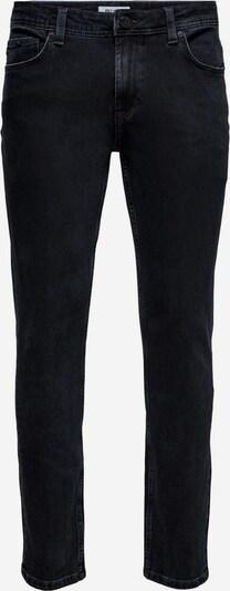 Only & Sons Jeans in de kleur Donkerblauw / Zwart, Productweergave