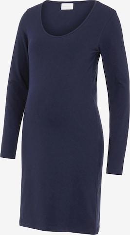 MAMALICIOUS Kleid 'AYA' - Modrá