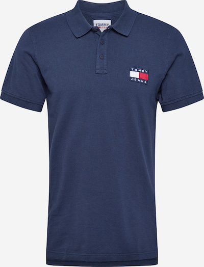 Tommy Jeans Poloshirt in navy, Produktansicht