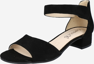 CAPRICE Strap sandal in Black, Item view