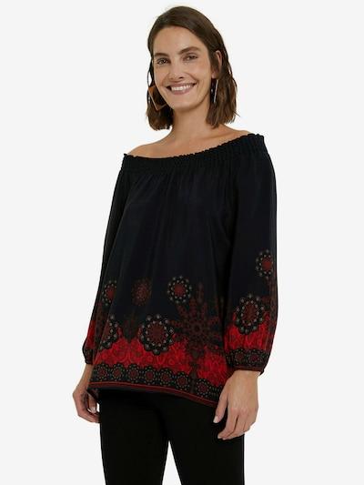 Bluză 'EIRE' Desigual pe roșu / negru, Vizualizare model