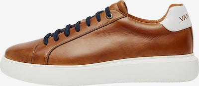Van Lier Sneaker in cognac, Produktansicht