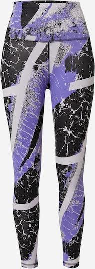 REEBOK Leggings in helllila / schwarz / weiß, Produktansicht