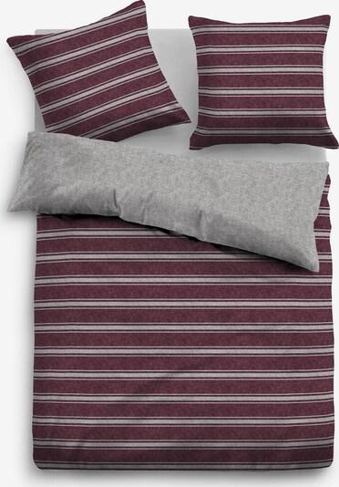 TOM TAILOR Bettwäsche in grau / rot, Produktansicht