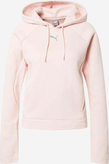 PUMA Sportief sweatshirt 'Evostripe' in de kleur Grijs / Rosa, Productweergave
