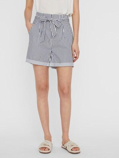 Pantaloni con pieghe 'Eva' VERO MODA di colore blu / bianco, Visualizzazione modelli