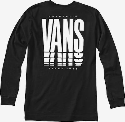 VANS Sweat-shirt 'REFLECT LS' en noir / blanc, Vue avec produit