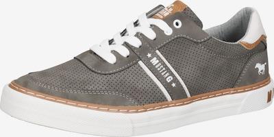 MUSTANG Sneaker in braun / grau / weiß, Produktansicht