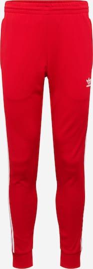 Kelnės iš ADIDAS ORIGINALS , spalva - raudona / balta, Prekių apžvalga