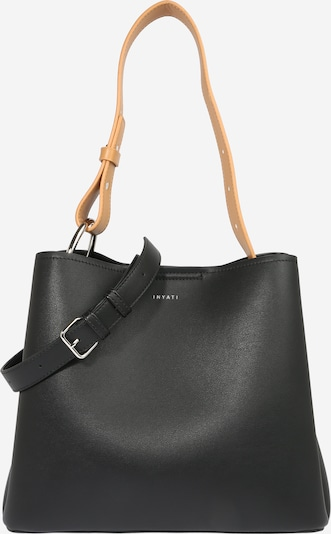 INYATI Tasche 'Jane' in camel / schwarz, Produktansicht