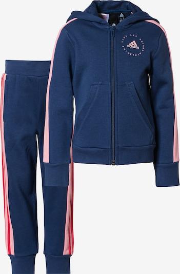 ADIDAS PERFORMANCE Trainingsanzug in dunkelblau / pink / pastellpink, Produktansicht