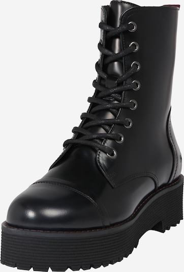 BUFFALO Veterlaarsjes in de kleur Zwart, Productweergave